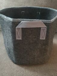 6-pack Gray Grow Bags Aeration Fabric Pots W/handles Root Container