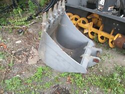 Never Used Digging Bucket For Excavator or Backhoe Maybe Volvo $750.00