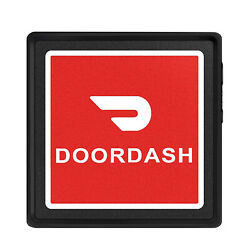 100pcs Doordash Light Sign Bright Led Amp Removable Rechargeable Food Delivery