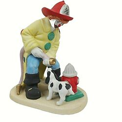 Vintage Clown Capers Freddie The Fireman River Shore House Of Global Art 1985