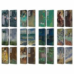 Masters Collection Paintings 2 Leather Book Wallet Case For Samsung Phones 4