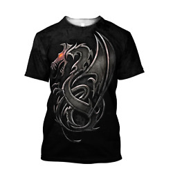 Steel Dragon Pattern Keep Them In Your Dungeon T-shirt 3d Aop Basic