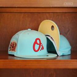 Baltimore Orioles 50th Anniversary 59fifty New Era Fitted Green Day Bja 7 5/8