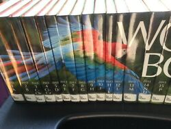 World Book Encyclopedia 2013 Hardcover 22 Vol. Complete Set Ex-library Reference