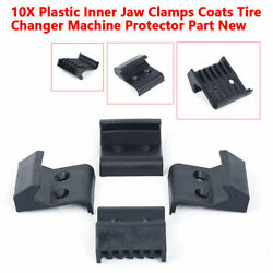 10x Coat Tire Changer Wheel Rim Guards Plastic Inserts Jaw Clamp Cover Protector