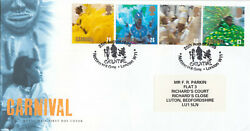 65962 Gb Fdc Carnival Notting Hill Gate 1998