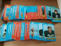 1971 Topps Football 1845 Low Grade Common Cards