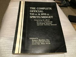 Used The Complete Official 948cc And 1098cc Sprite/midget Robert Bentley Inc. Man