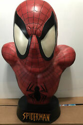 Sideshow Spider-man Life Size Bust No 9 Of 250 Price To Sell