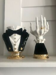 2021 Bath And Body Works Halloween Candle Holders - Headless And Witch Hand