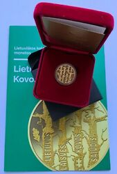 2019 Lithuania 50 Andeuro Coin Movement For The Struggle For Freedom Of Lithuania