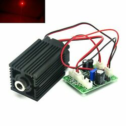 650nm 100mw Long Time Working Red Focusable Dot Laser Diode Module Driver 12v