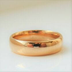Fine Antique Victorian 22ct Gold Wedding Band Ring C1894 Uk Ring Size 'm'