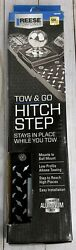 Reese Towpower 7060200 Tow And Go Hitch Step Black 500 Lb. Capacity