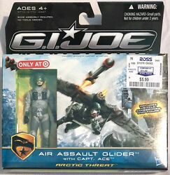 Air Assault Glider With Capt Ace - Gi Joe The Rise Of Cobra 3.75 Inch 118 Scale