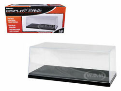 Collectible Display Show Case W/black Base For 1/18 Models By Greenlight 55020
