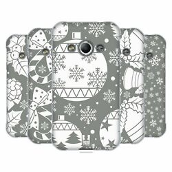 Head Case Designs Silver Holiday Collection Soft Gel Case For Samsung Phones 4