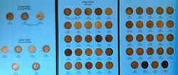 Flying Eagle And Indian Head Cent Complete P Mint Penny Collection Album 1857-1909