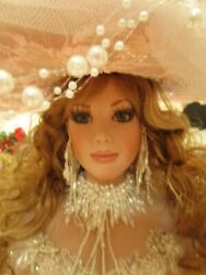 Rustie Original 1/1 Peach Delight Porcelain Doll 34 One-of-a-kind New