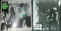 George Romero Night Of The Living Dead Lobby Card Signed Zombie Horror Poster