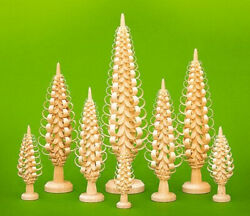 Table Decoration Chip Tree Height Approx 39 3/8in 9 Rows New Wood