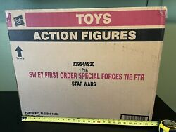 Star Wars Black Series 6 Inch First Order Special Forces Tie Fighter And Pilot