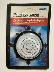 Camco Rv Bullseye Surface Level Camper Trailer Leveling 360 Degree Bubble 25573
