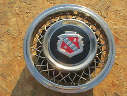 1953 Buick Roadmaster 15 Wire Wheel Cover Hubcap One 1