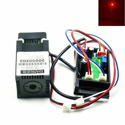 638nm 635nm 400mw Focus Red Dot Laser Diode Module 12v Driver Fan Cooling