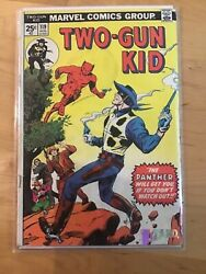 Marvel Two Gun Kid #119 August 1974 Jack Kirby First PANTHER