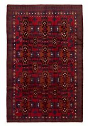 Hand-knotted Carpet 6and0394 X 9and0399 Traditional Oriental Wool Area Rug