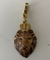 2007 Juicy Couture Leo Lion Zodiac Charm July August Birthday Fire Sign Crown
