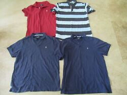 Lot, 4 Mens Size Xl Polo Shirts, Volcom, Abercrombie And Fitch, Billabong