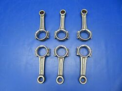 Continental Io-470-d Connecting Rod 628752 Set Of 6 Overhauled 8130 0721-802