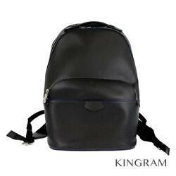 Louis Vuitton Taiga Anton Backpack M33425 Black Leather Backpack From Japan