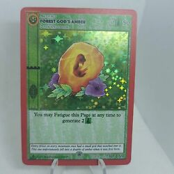 Metazoo Cryptid Nation First Edition - Forest Godand039s Amber 30/159 Holo Foil