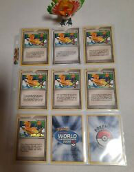 Pokemon Tropical Wind Complete Set Of Worlds 2004 Stamped Promo Cards 026