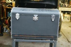 1930s Eagle Antique Automobile Travel Trunk With Suit Cases Cadillac,packard.