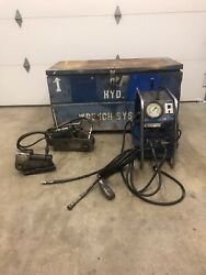 Ingersoll-rand Hydraulic Torque Wrench System. 4500psi Torque System.