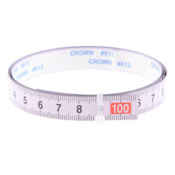 1m/ 1.1yd Self Adhesive Tape Measure Sewing Tables Machines And Workshops