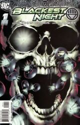 Blackest Night 1-8 By Geoff Johns Complete + Tie-ins | 33 Issues | 1st Prints