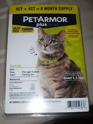 Petarmor Plus For Cats - 8 Month Value Pack