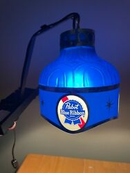Pabst Blue Ribbon Beer Wall Light -vintage 1960's - Excellent And Works Great