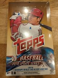 2018 Topps Update Hobby Box - Sealed - Acuna Soto Ohtani Torres Rc Invest