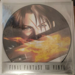 Final Fantasy Viii 8 Picture Disc Lp Vinyl 2015 Limited Numbered 1741 New Sealed