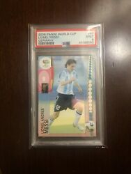 2006 Panini World Cup Germany Lionel Messi 47 Psa 9 Mint