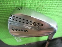 Nice Taylormade P-790 Forged Single 9 Iron To Set