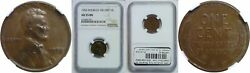 1955 Doubled Die Obverse Lincoln Cent Ngc Au-55 Bn