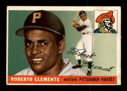 1955 Topps 164 Roberto Clemente Rc Vgex X2172060