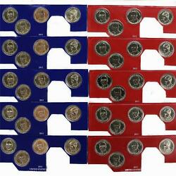 2015 P D Presidential Dollar 5 Sets In Mint Cello Bu 40 Us Coin Lot
